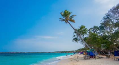 Destination Baru Island in Colombia
