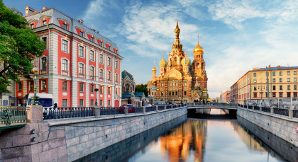 Destination St. Petersburg in Russia