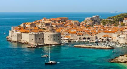 Dubrovnik in Kroatien & Slowenien