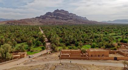 Agdz in Marokko