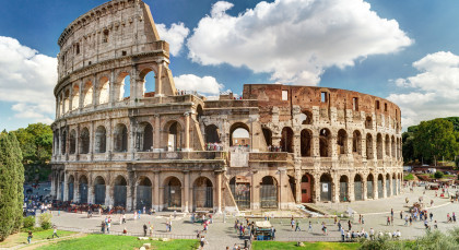 Destination Rome in Italy