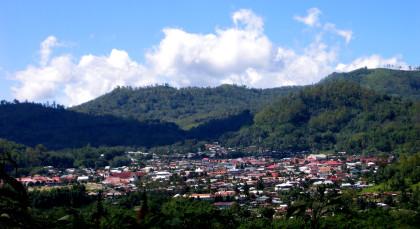 Bajawa in Indonesien
