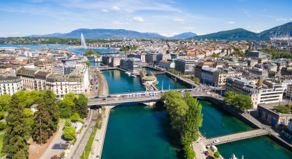 Destination Geneva in Switzerland