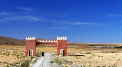 Destination Tafraoute in Morocco
