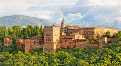 Destination Granada in Spain