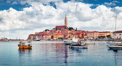 Rovinj in Kroatien & Slowenien