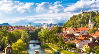 Ljubljana in Kroatien & Slowenien