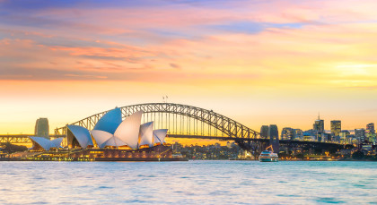 Destination Sydney in Australia