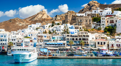 Destination Naxos in Greece