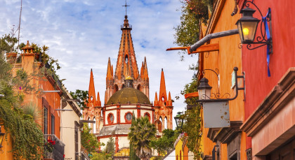Destination San Miguel de Allende in Mexico
