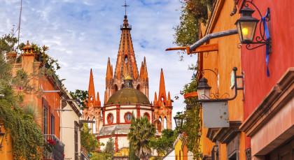 San Miguel de Allende in Mexiko