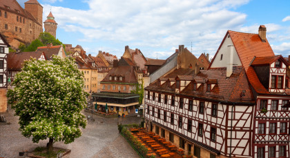 Destination Nuremberg in Germany