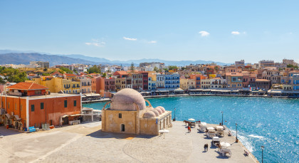 Destination Chania in Greece