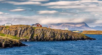 Stykkishólmur in Island