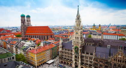Destination Munich in Germany