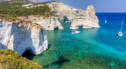 Destination Milos in Greece
