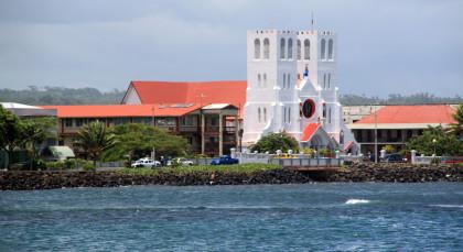 Destination Apia in Samoa
