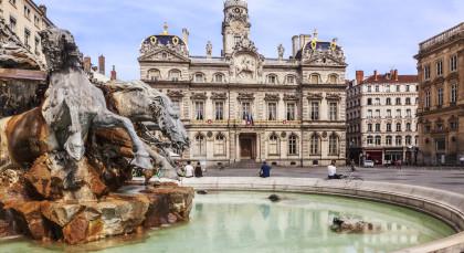 Destination Lyon in France