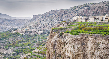 Destination Jebel Akhdar in Oman