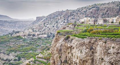 Jebel Akhdar in Oman