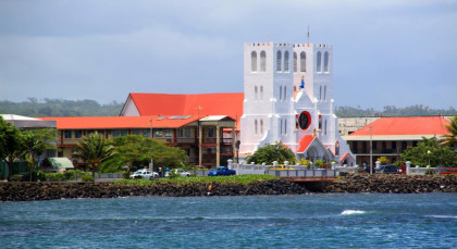 Apia in Samoa