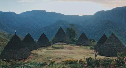 Ruteng in Indonesien