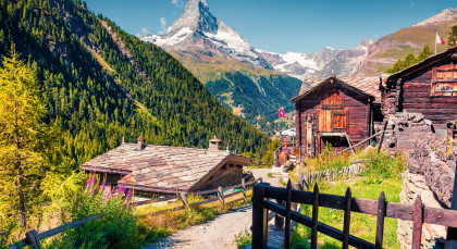 Destination Zermatt in Switzerland