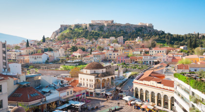 Destination Athens in Greece