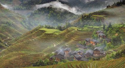 Longsheng in China