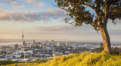 Destination Auckland in New Zealand