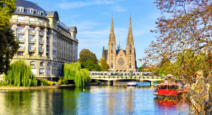 Destination Strasbourg in France