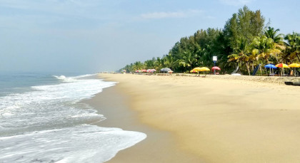 Marari Strand in Südindien