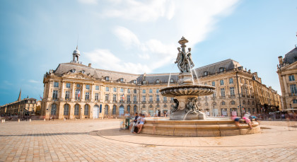 Destination Bordeaux in France