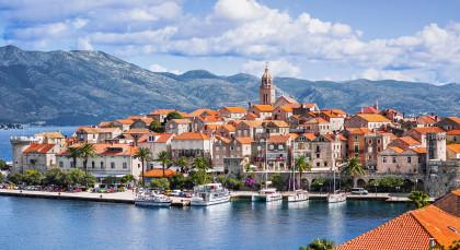Korcula in Kroatien & Slowenien