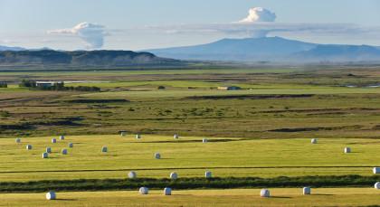 Flúðir in Island