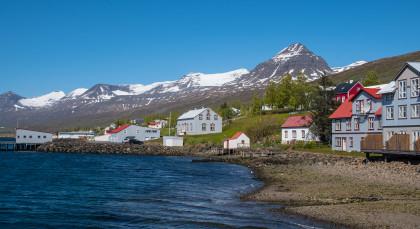 Fáskrúðsfjörður in Island