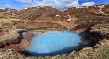 Hveragerði in Island