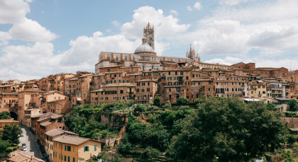 Destination Siena in Italy