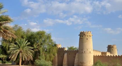 Al Ain in Vereinigte Arabische Emirate