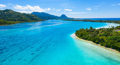 Destination Tahiti in French Polynesia