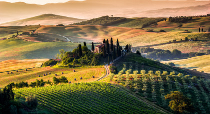 Destination Tuscany in Italy