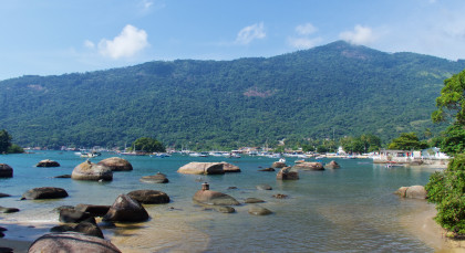 Destination Ilha Grande in Brazil