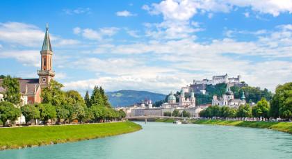 Destination Salzburg in European Cities
