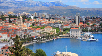 Split in Kroatien & Slowenien