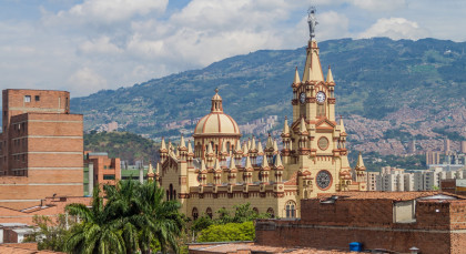 Destination Medellin in Colombia