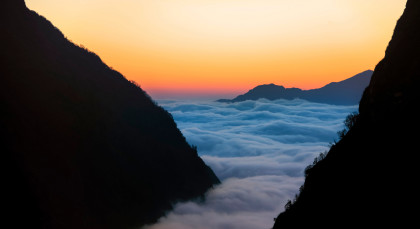 Annapurna Region in Nepal