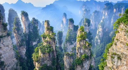 Destination Zhangjiajie in China