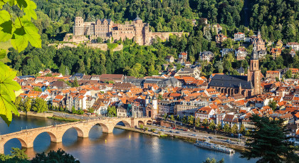 Destination Heidelberg in Germany