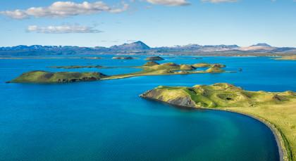 Mývatn-See in Island