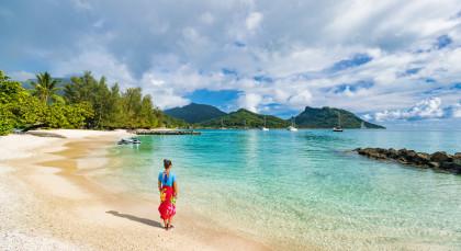 Huahine in Französisch Polynesien